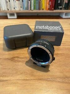 Used Metabones MB-EF-E-BT5 Sony E for Canon EF Mount Adapter Lens