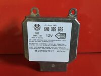 POLO 6N GOLF 3 PASSAT LUPO ALHAMBRA IBIZA CALCULATEUR AIRBAG REF 6N0909603