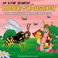 DIE KLEINE SCHNECKE MONIKA HÄUSCHEN-43:WARUM NASCHEN HORNISSEN KEINEN..? CD NEU