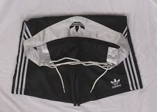 Rare Adidas Shiny Black Trefoil Boxing Trunks Shorts Ali Originals Men Size L