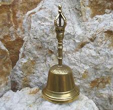 Handglocke Gold Tischglocke Hotel Glocke Weihnachtsglocke Messing Guss Qualität
