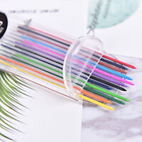 2.0mm 2B Colored Pencil Lead 2mm Mechanical Clutch Refill Holder 12 Colors SetWA