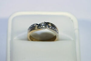 RRP £3,000 Solitaire Diamond  18ct Gold Ring Appraisal Included .C.