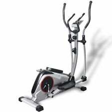 vidaXL Ellipsentrainer XL Heim Crosstrainer Ergometer Fitness Schwungmasse 18 kg