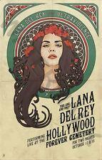Lana del rey music star énorme art imprimé poster llfgz 0007