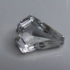 Natural large earth-mined clear white Topaz....43.6 carat