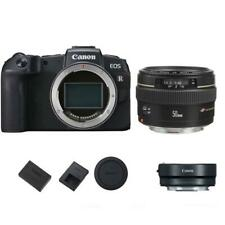 Canon EOS RP Mirrorless Digital Camera with Canon 50mm 1.4 EF USM