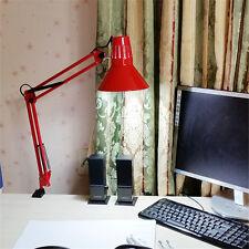 Red Table Lights Adjustable Clip Office Desk Top Table Lamp Metal LED Chandelier