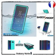 Etui Coque Housse étanche Waterproof Shockproof Case Cover Samsung Galaxy Note 8