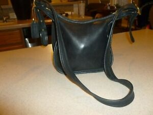 Vintage Coach Black Janice 9950 Leather Bag Handbag Purse Hobo Satchel Shoulder