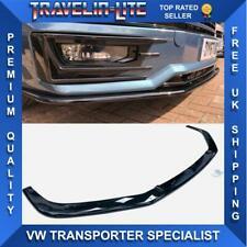 VW T6 Sportline Splitter Gloss Black ABS Plastic Transporter 15-19