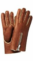 Theory Amarlina Women's Lamb Skin Wool Lined Gloves Size P/S Retail $195