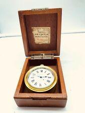 Military Chronometer. British Royal Navy. Ulysses Nardin Locle Suiss Chronometre