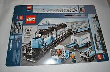 Lego 10219 BOX ONLY Maersk Container Train not complete set 3677/4512/7939/60052