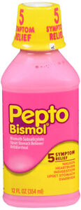 Pepto Bismol Liquid Original 12 oz