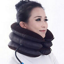 FD1296 Neck Back Pain Support Air Cushion Pillow Traction Device Holder Massager