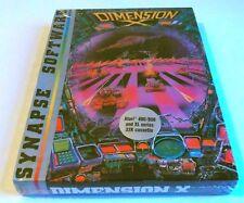 Atari XL : Dimension X - Synapse Software 1984 - Kassete Version