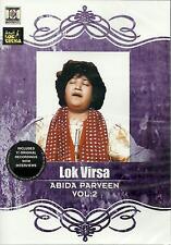 ABIDA PARVEEN VOL:2 LOK VIRSA - NEW PUNJABI SONGS + INTERVIEWS DVD