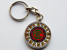 ALICE IN CHAINS Grunge Rock Band Quality Chrome Keyring Picture on Both Sides!