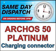 ARCHOS 50 PLATINUM MICRO USB CHARGING CONNECTOR PORT DC JACK BLOCK SOCKET