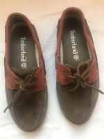 New Timberland Brown Boat Shoes Men Size 8.5