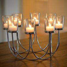 Beautiful Tea Light Glass Candle Holder Wedding Christmas Table Centrepiece