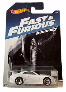 Hot Wheels Toyota Supra Fast and Furious Paul Walker Combined Postage Available