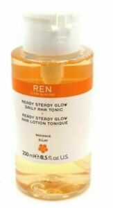 REN Ready Steady Glow Daily AHA Tonic Exfoliating Face Toner - 250 mL/ 8.5 fl oz