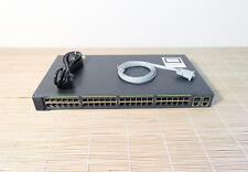 Cisco WS-C2960+48TC-S Catalyst 2960 Plus 48x 10/100  2x T/SFP LAN Lite