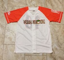 Fresno Grizzlies Farm Grown Promo Jersey Size Men's XL NEW