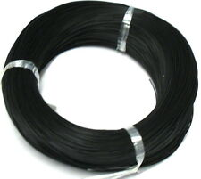 2 Meters Light Duty Black UL1007 26AWG Stranded Electrical Hookup Wire BB