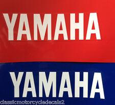 YAMAHA R1 R6 YZF-R1 YZF-R6 FRONT FENDER MUDGUARD DECALS