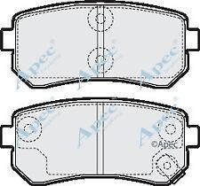REAR BRAKE PADS FOR HYUNDAI I30 CW GENUINE APEC PAD1563