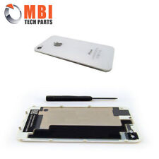 iPhone 4S 4GS - White A1387 New Replacement Back Rear Glass Battery Cover