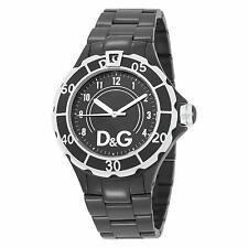 New D&G Dolce & Gabbana Women's DW0662 New Anchor Analog Black Watch