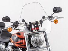 "Kawasaki VN900 Vulcan Classic & Custom 900 - Clear 15"" Windshield CSF w/kit"