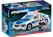 Playmobil voiture de police avec lumière clignotante (int) 5184