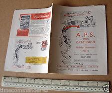 1950 American EDITORES SERVICIO catálogo de libros de tipo útil American Craft