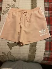 Scally Lads Pink/white Adidas Shorts Size L. Gay Int?