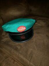 Vintage Drink Coca-Cola Delivery Hat in Green Small Coke Cap