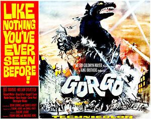 Gorgo - 1961 - Movie Poster