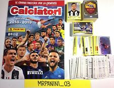 CALCIATORI Panini 2018-2019 - ALBUM VUOTO + Full-Set Completo Figurine-stickers