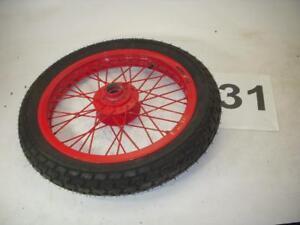 1977 XS650 650 Yamaha Front Rim Red Powder Coated 19 Inch Spoke Wheel RIM-31