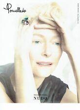 Publicité Advertising 067  2013  bijoux Nudo & Tilda Swinton Pomellato