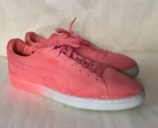 f195daee88ef Mens Puma Classic Suede Red Ice Fade Fluo Sneaker EUC Size 11.5
