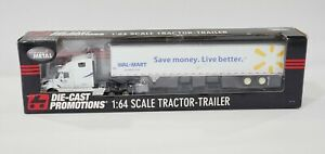 DCP WALMART '53 FOOT TRAILER #32000 1/64 SCALE DIE CAST PROMOTIONS