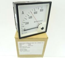 Drehspulinstrument DEIF GQ96 Delomatic Amperemeter Strommesser DQ96 0-800A 0-1mA