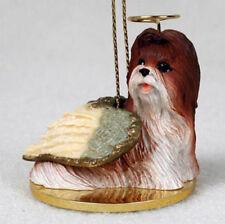 Shih Tzu Tan Dog Tiny Ones Angel Ornament