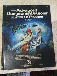 Advanced Dungeons and Dragons Players Handbook 1978