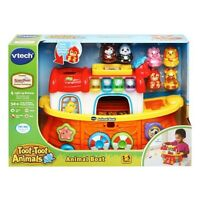 VTech Toot Toot Animal Boat 50+ Sounds New Baby Toddler Learning Toy 1-5 Years